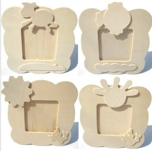 Handmade diy wooden photo frame snow mud pearl mud clay mould white playdough paper clay play Dou mold mould colored drawing(China (Mainland))
