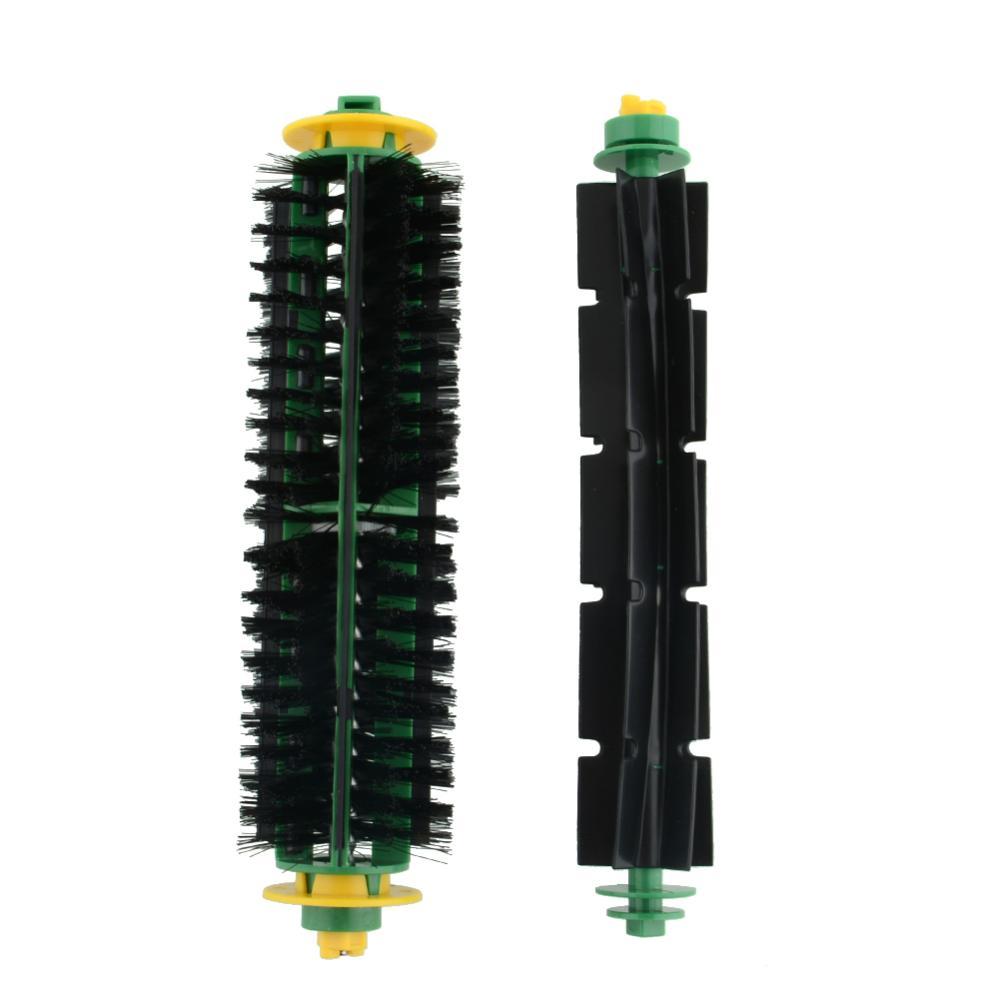 Hot Bristle Brush +Flexible Beater Brush For iRobot Roomba 500 Series 550 570 Clean drop shipping(China (Mainland))