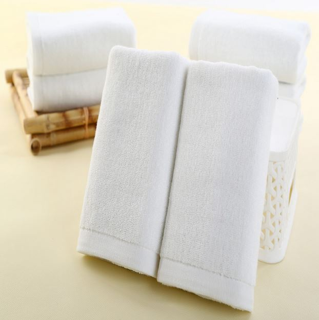New roll Hotel towel wholesale cotton thickened sauna cosmetology hairdressing beauty white towel embroidered universal towel(China (Mainland))