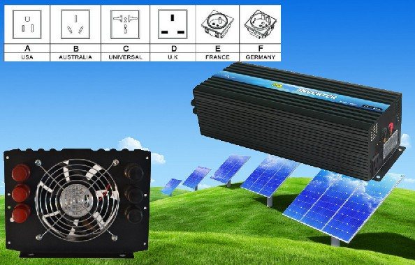 Manufacturer price,CE&ROHS certificate, Pure Sine Wave Off Grid Inverter, Solar Inverter 6000W(China (Mainland))