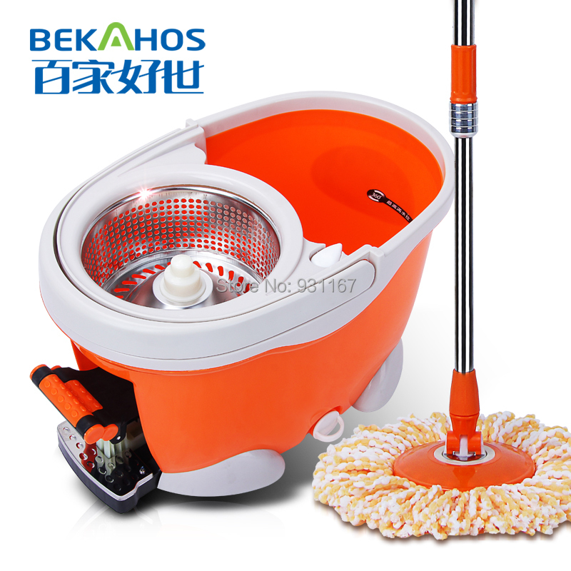 dust cleaning mop as seen on TV microfiber mop(China (Mainland))