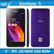 Original ZenFone 5 Android 4.3 Mobile Phone For ASUS 5″ IPS 1280×720 Screen Intel Z2560/2580 2GB RAM 16GB ROM Dual SIM GPS