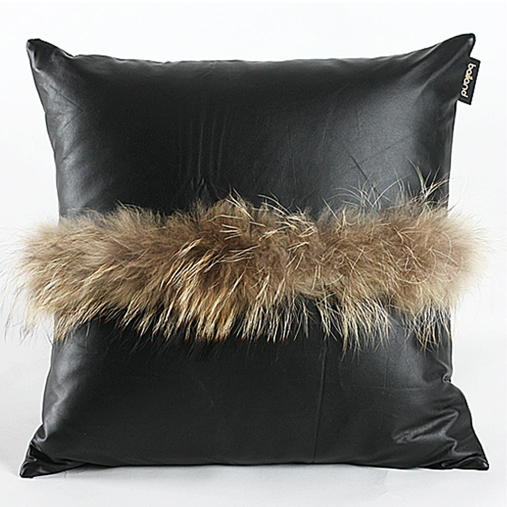 Decorative Pillows For Black Leather Couch : New Enjoyable 18*18