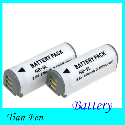 3.5V NB-9L NB 9L NB9L Rechargeable Camera Battery Canon IXUS 1000 1100 500 510 HS  -  China Tianfen Group Co.,LTD store