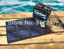18 Watt Folding Solar Panel with 10 Amp Charger