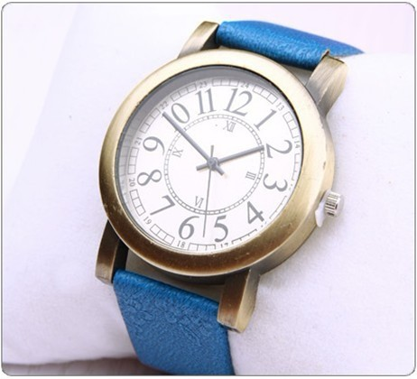 Free shipping hot style fashion vintage women's quartz dress watch roman number fashion limited edition Japanese movement