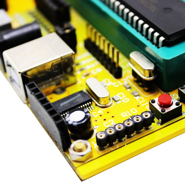 DIY (ZK-1) 51/AVR MCU minimum system board /USB download / development board / tutorial (C7A3)