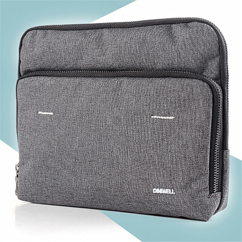 13.3 Inch Air Pro For Ipad 2 Mini Laptop Zippered Sleeve Graphite Grid Case Cover Protective Bag Netbook Handbag Protector(China (Mainland))