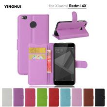 Buy Xiaomi Redmi 4X Case 5.0 Inch Wallet PU Leather Phone Cover Redmi Hongmi 4X 4 X Retro Silicone Protective Flip Back Bag for $3.89 in AliExpress store