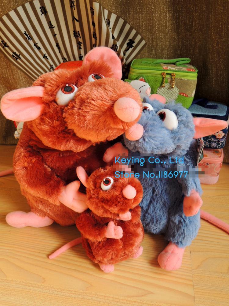 Original Ratatouille Remy Emile Mouse Stuff Plush Toy Doll Kids Birthday Gift(China (Mainland))