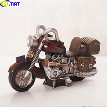 European Style Retro Motorcycle Sculpture Home Furnishing Living Room TV Cabinet Shop Decoration Design Bar Motorcycle Statue(China (Mainland))