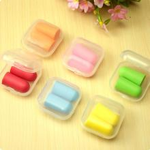 10 Pairs Soft Foam Anti-noise Noise Reduction Earplug Ear Plug for Travel Sleep Rest Hearing Protection#ZH200
