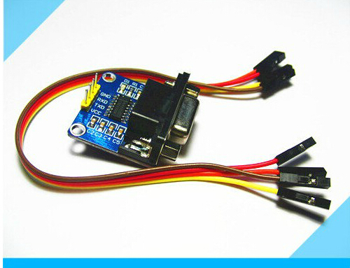 MAX3232 MAX232 RS232 To TTL Serial communication converter Module 5V/3.3V+Jump Cables(China (Mainland))
