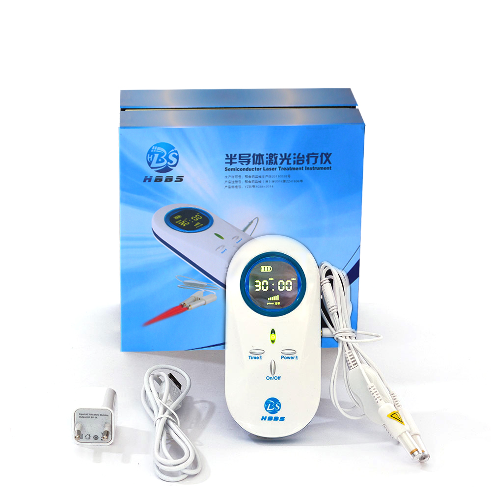 Healthcare Cold Laser Therapy pure green physiotherapy chronic rhinitis(China (Mainland))