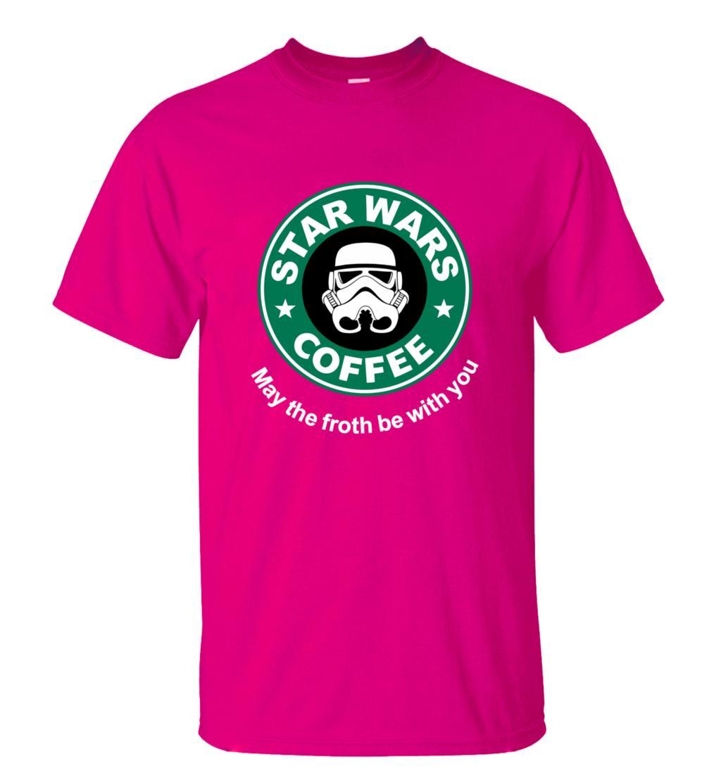 2016 New Arrival Cool star wars T Shirt funny COFFEE Printed T-shirt Men's Short Sleeve O-Neck Streetwear HipHop Summer Tops Tee  HTB1NURwMXXXXXaCapXXq6xXFXXXK