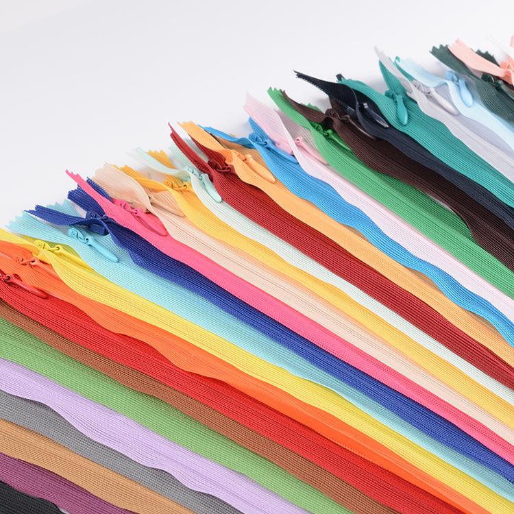 Free shipping 20pcs 40 cm invisible zipper skirt will end invisible zipper pillow zipper(China (Mainland))