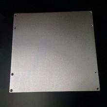 3 D printer parts DIY Reprap Aluminium Build Platform Heated Bed Plate for Prusa 3D Printers 220*210*3 mm free shipping