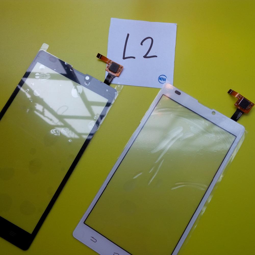 20Pcs/Lot L2 Digitizer Glass Lens Repair Parts For ZTE Blade L2 Touch Sensor Panel ; HK Post Free Shipping