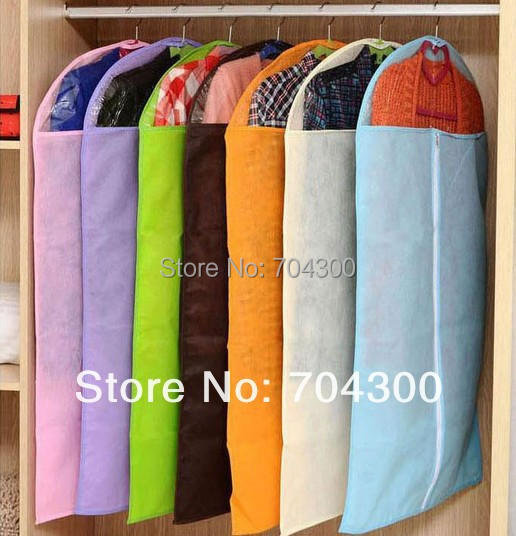 Breathable Suit Dress Cover Garment Travel Closet Storage Bag Protector(China (Mainland))