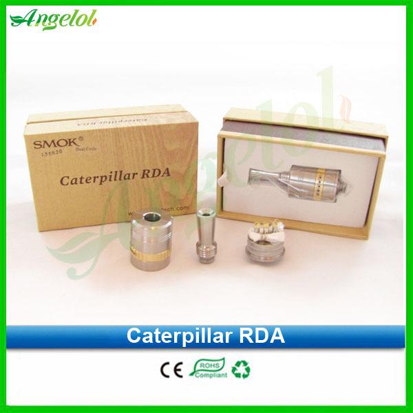 Chinapost free 2014 authentic Smoktech tank smok caterpillar rda tank VS kayfun v4 taifun gt 2 fit DNA 40 nemesis mod(China (Mainland))