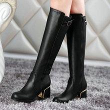 Nueva sexy del dedo del pie botas de mujer moda botas de caballero caliente venta de la motocicleta punky invierno botas de nieve zapatos(China (Mainland))