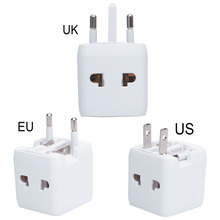 Buy Universal World Mini Charger Adapter Plug one Travel AC Power Adapter Converter US/UK/AU/EU Plug Socket for $3.99 in AliExpress store