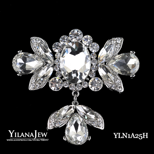 12pcs lot Wholesale Bulk sale Bridal Crystal Brooch 5H091 Wedding Jewelry Bridal Accessory Rhinestone Brooch Fashion