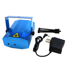 Buy Mini Stage Light Laser Projector Light DJ Disco Laser Stage Lighting EU US plug Christmas Party Show Club Bar Pub Wedding for $16.00 in AliExpress store