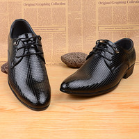 New Style Men Oxford Shoes Spring Casual Lace Up England Style Formal Dress Men Shoes 45