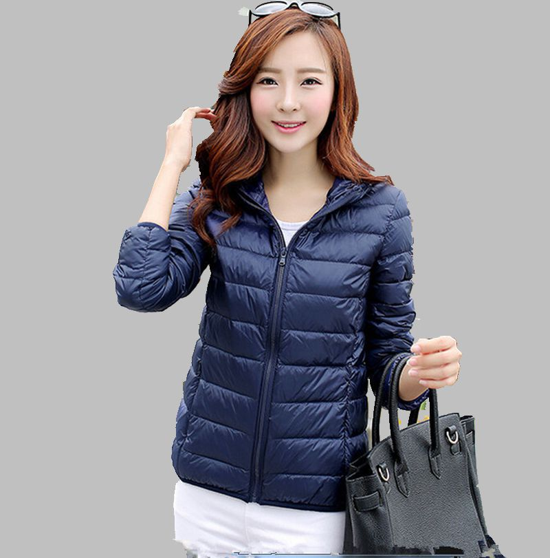 New 2015 Fashion Ladies Down Short Design Coat Womens Down Jackets Women Slim Solid Zipper Outerwear Plus Size Clothing ZL0762Одежда и ак�е��уары<br><br><br>Aliexpress