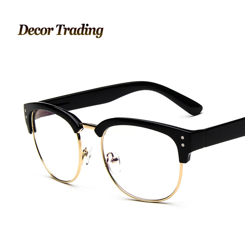 aliexpress buy vintage half frame eye glasses frame