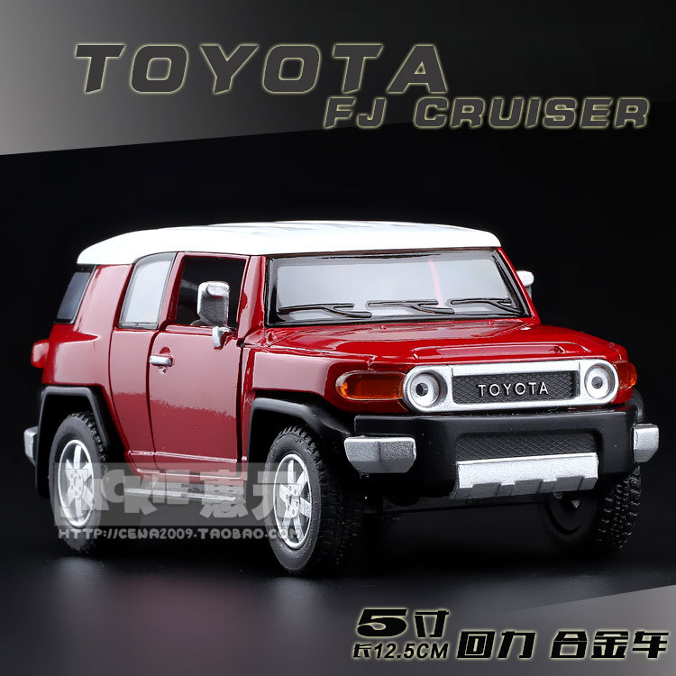 High Simulation Exquisite Baby Toys: New and Original TOYOTA FJ Cruiser Model Decoration 1:36 Alloy SUV Model Excellent Gifts(China (Mainland))