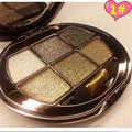 New Arrival 1 set 6 color 3D Diamond Shine Eye Shadow Palette eye shadow Smoky makeup