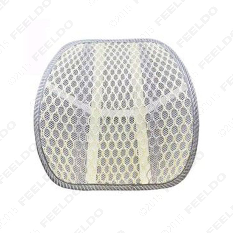 Car Office Home Seat Chair Mesh Back Hollow Lumbar Support Cushion Massage Pad #FD-2060(China (Mainland))