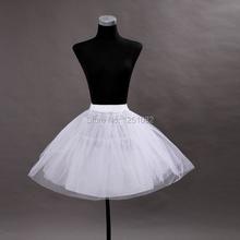 White / Black Short Petticoat Underskirt Crinoline Rockabilly Dance Petticoat Retro Vintage Fancy Net Skirt Tutu(China (Mainland))