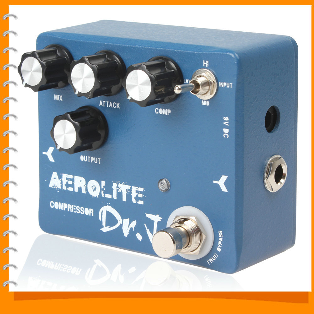 Joyo Dr.J D-55 Electric Guitar Effect Pedal Aerolite Compression True Bypass Guitar Pedal Effect with Aluminum Alloy Housing(China (Mainland))