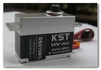 KST DS515MG Mini HV Metal Case Metal Gear Digital Coreless Servo - Trex 500(China (Mainland))