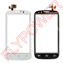 White Touch Screen For Alacatel Pop C5 F 5036A 5036X 5037A 5037X Touch Digitizer Screen Glass Lens By FreeShipping;5PCS/LOT