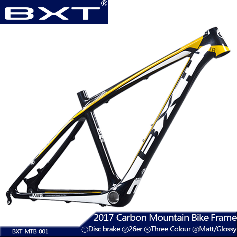 BXT new Carbon mtb framee bicicleta mountain bike 26 child Bike cheap carbon frame 14inch/16inch carbon bicycles frame 26er free