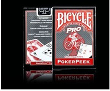 Envío gratis Pro profesional red bicycle poker trucos de magia cartas mágicas