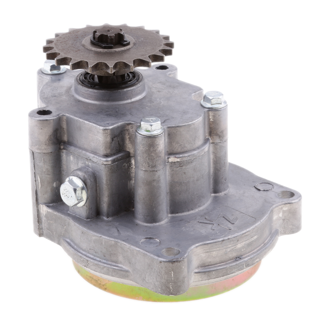 Aluminum Alloy Motorcycle Transmission Gear Box For 49CC 2-Stroke/4-Stroke Engine Mini Pocket Bike ATV PetrolScooter Chopper