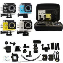 Carry Bag + 2.0″ LCD WiFi SJ6000-w9 HD 1080P DVR Action Helmet Sports DV 30M waterproof Camera as GOPRO SJCAM SJ4000 SJ5000 HH02
