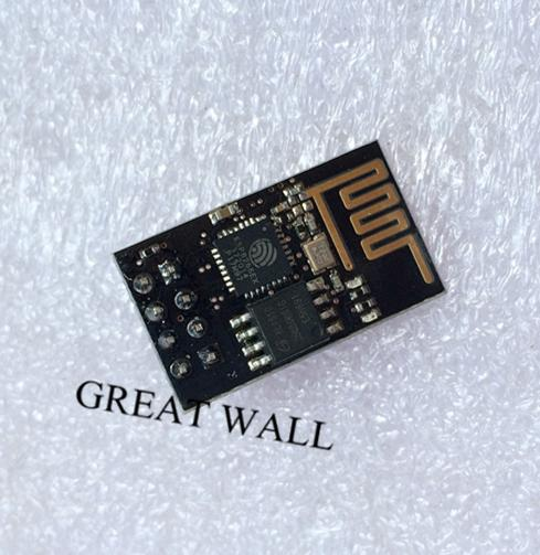 Upgraded version (1M Flash) ESP-01E ESP8266 serial WIFI wireless module wireless transceiver 10pcs(China (Mainland))