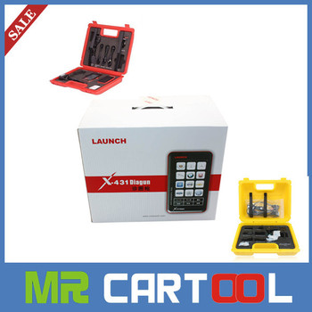 2015 Latest Version Multi-language 110 Software Launch X431 Diagun Scanner Full Set with all adapters+Lifelong free update