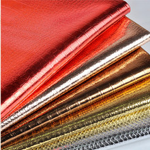 Faux Glitter Leather Fabric ,Synthetic Crocodile Leather , PU Artificial Leather Cloth for sewing material, Hide Wholesale(China (Mainland))