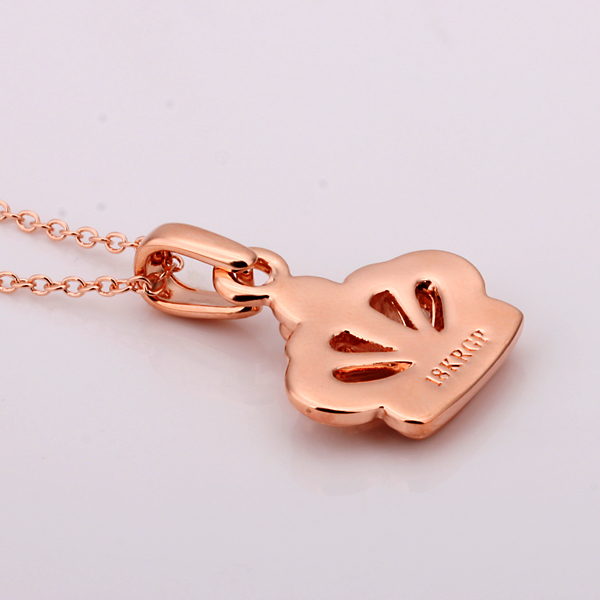 18KGP N380  crown pendant  gold plating 18k  Health Jewelry Nickel Free  SWA Elements  Necklaces Kamei  necklace