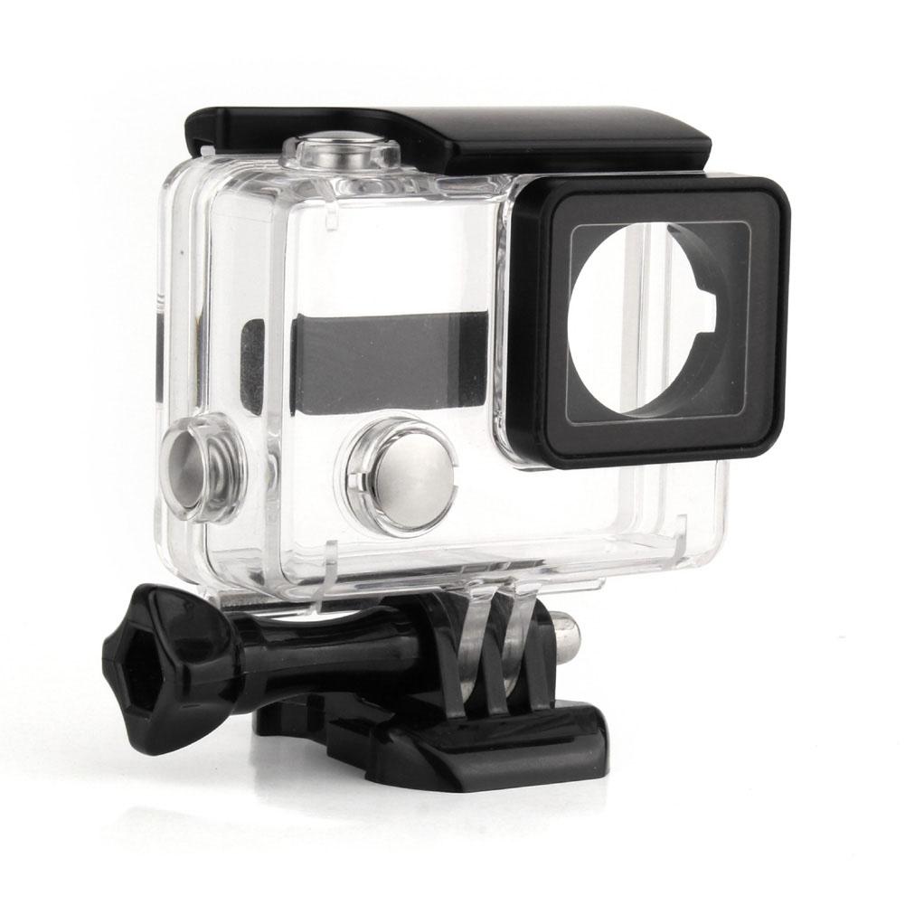 GoPro Hero 3 Waterproof Housing Case Go Pro Underwater Waterproof Protective Diving Housing Case for GoPro Hero 3 3+ Camera(China (Mainland))