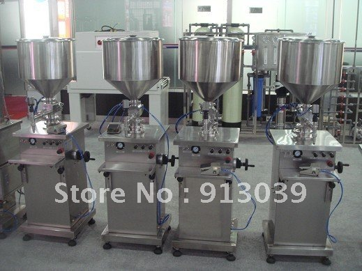 HKDS-GZ 10-120ml Vertical Paste filling machine - Guangzhou MIZIHO Chemical Machinery Co.,Ltd. store