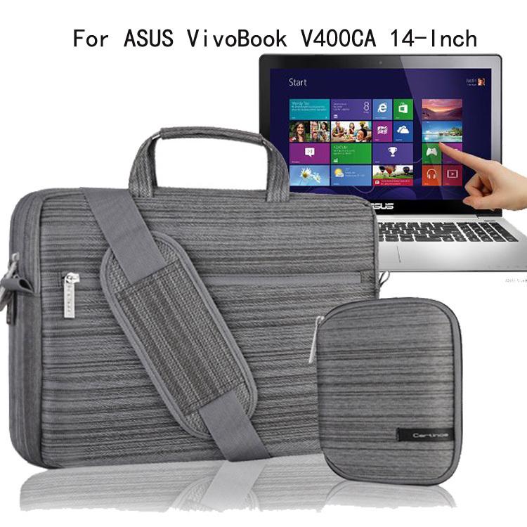 For ASUS VivoBook V400CA V400CA-DB31T 14-Inch Laptop Case Protective Shoulder Bag Carrying Briefcase Messenger w/ Handles(China (Mainland))