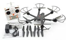F15067-D Black MJX X600 2.4G 3D Roll FPV Wifi Helicopter RC Drone Quadcopter UFO No Camera with Extra Props FS